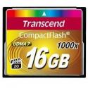 TRANSCEND Compact Flash Muistikortti 16GB (1000x)