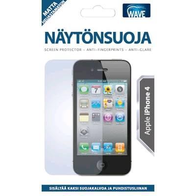 WAVE Näytönsuojakalvo - Yhteensopiva: Apple iPhone 4
