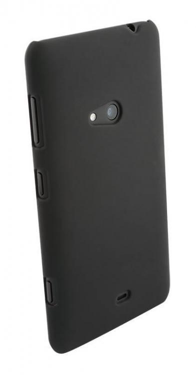 WAVE Puhelinsuoja, materiaalina PC, mattapinta - musta - Yhteensopiva: Nokia Lumia 625