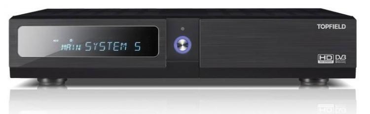 Topfield CRC-1410 Tallentava HD digiboxi 500GB DVB-T/T2 + DVB-C