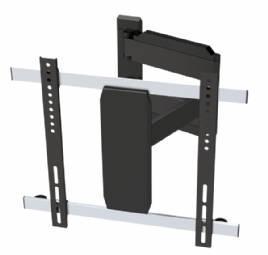 """Sinox CONNECTECH CTB3350 kallistuva ja kääntyvä seinäteline Ultra Slim. 26\""""-47\"""" taulutelevisioille, max 25kg, Vesa max 400 x 400. Etäisyys seinästä 36-650mm"""