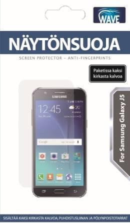 WAVE Näytönsuojakalvo - Yhteensopiva: Samsung Galaxy J5, J500