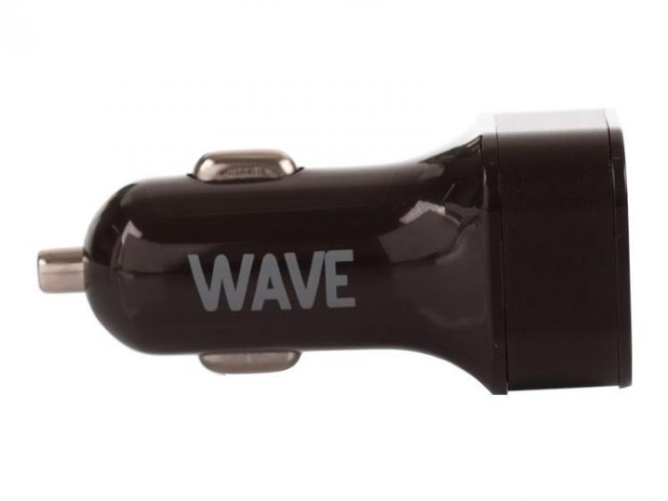 WAVE AUTOLATURI QC3.0. 2 USB:n autolaturi