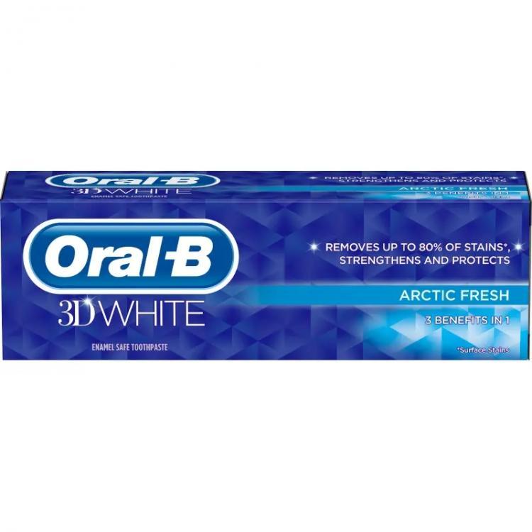Oral-B 3D White Arctic Fresh 75 ml  hammastahna
