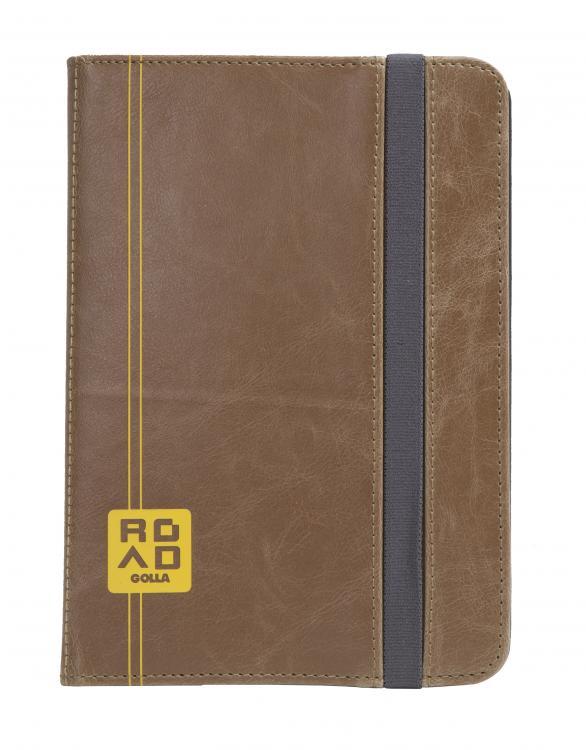 "Golla ROAD Flip Folder G1613 CASON, Ruskea, 8\"" Tableteille"