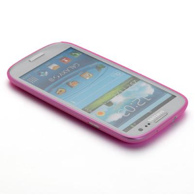 Muvit takakuori iMatt Samsung Galaxy S III pinkki