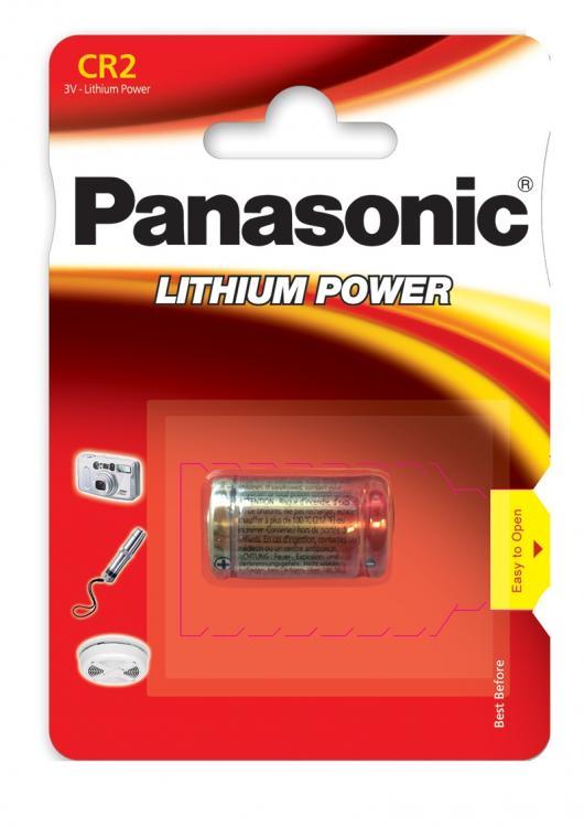 Panasonic Photo Lithium CR2-paristo  1kpl