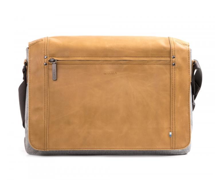 Golla Shoulder bag G1813 Niles, Salt&Pepper/Camel