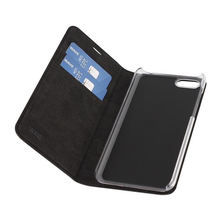 WAVE Book case kotelo, Musta, Huawei Y5 2018, HuaweiY5 Prime 2018
