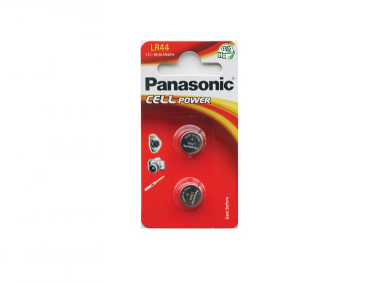 Panasonic Micro Alkaline LR44-paristo  2kpl