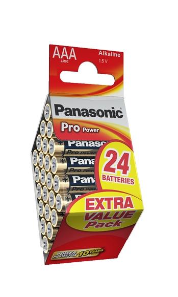 Panasonic Pro Power (PPG) AAA-paristo 24kpl