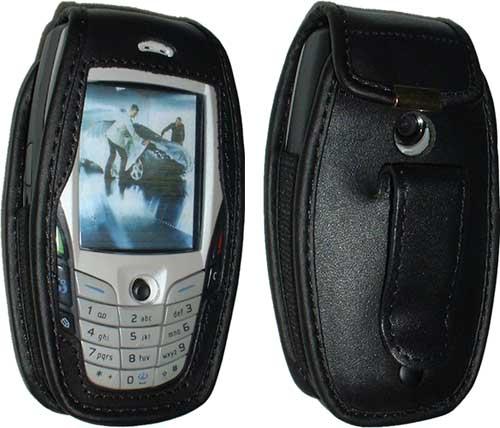 Nokia 6600 nahkakotelo
