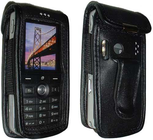 SonyEricsson K750i/W800i nahkalaukku