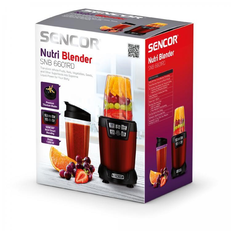 SENCOR SNB6601RD NUTRI BLENDERI