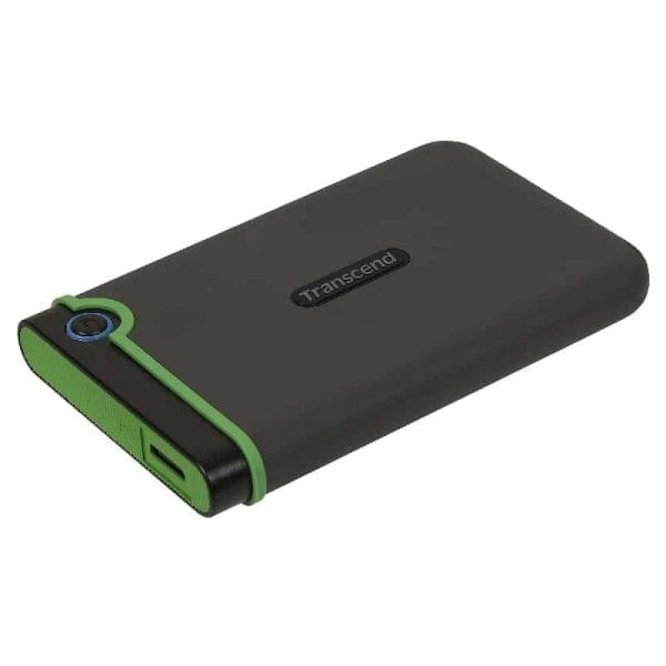 Transcend StoreJet 25M3 Ulkoinen HDD kiintolevy, 4TB, Harmaa (USB 3.1)
