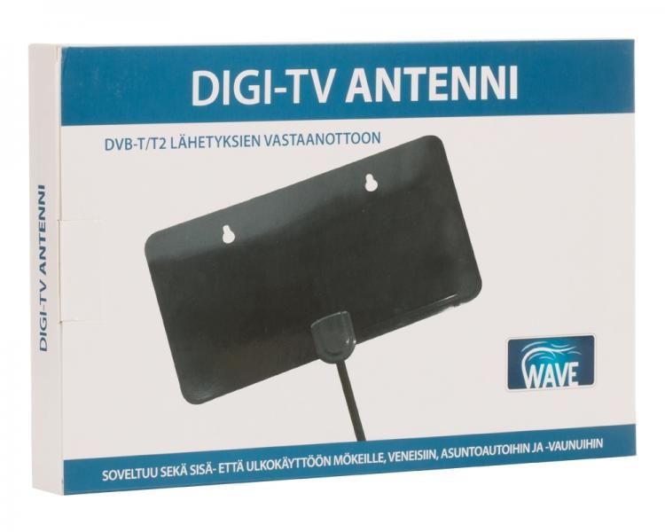WAVE-ANTENNI DVB-T/T2 lähetyksien vastaanottoon