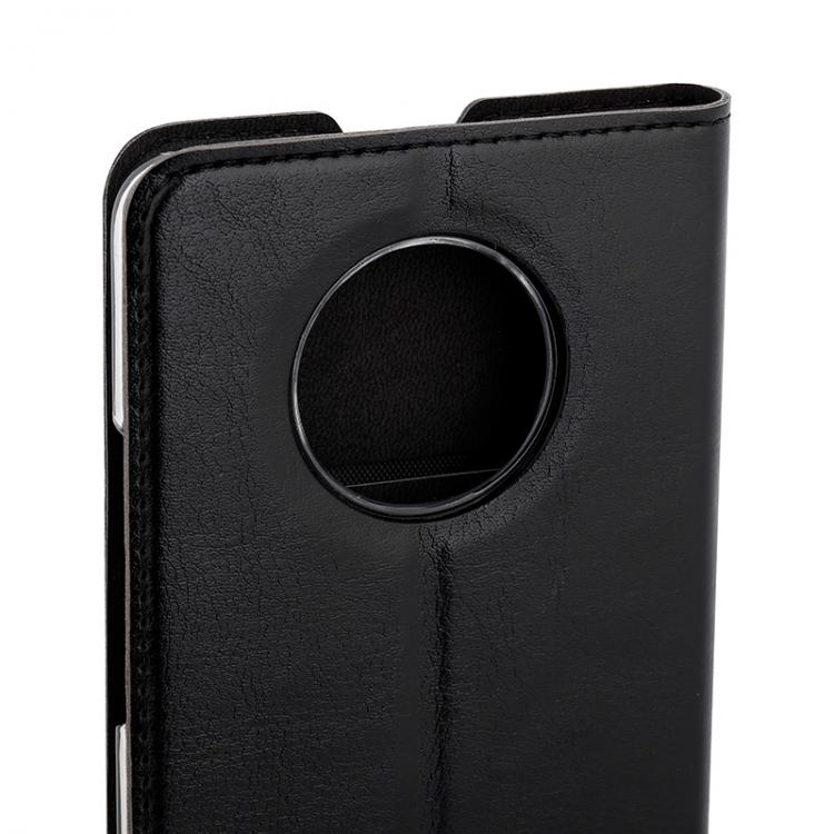 Wave Book Case, OnePlus 7T, Musta