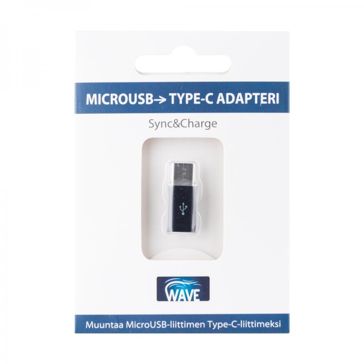 WAVE ADAPTERI - MicroUSB - Type-C