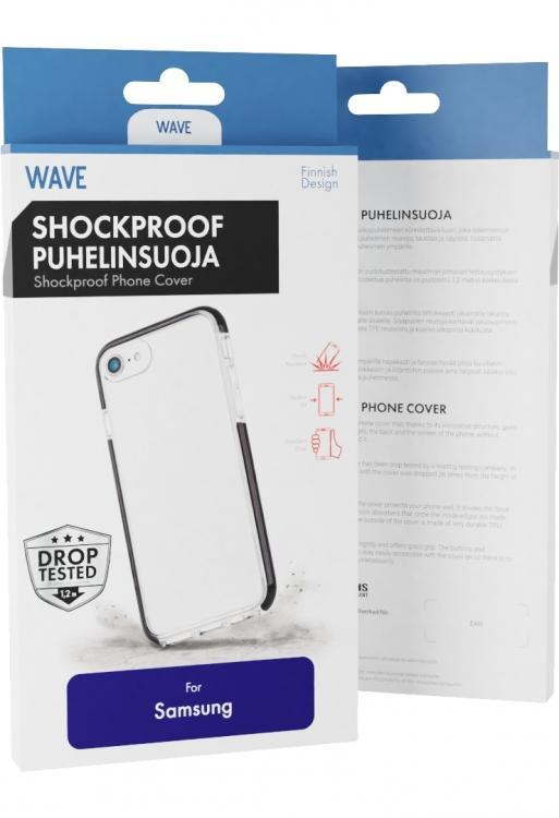 Wave Shockproof puhelinsuoja Samsung Galaxy A70
